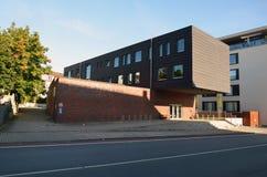 De de schoolbouw van de muziek in Herford, Duitsland Royalty-vrije Stock Afbeeldingen