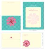 De de speciale Malplaatjes en Envelop van de Gebeurtenis Stock Fotografie