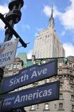 De de staatsbouw van het imperium in New York stad Stock Afbeeldingen