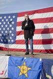 De de staatsSenator van Idaho spreekt bij verzameling. Royalty-vrije Stock Afbeelding