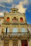 De de stadsbouw van Havana stock afbeelding