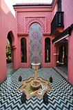 De de stijlbouw van Marokko Royalty-vrije Stock Afbeelding