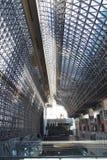 De de structuurbouw van het staalvertrouwen Stock Afbeeldingen