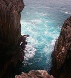 De de tegenhangerv.n. van fotode La mer roadtrip royalty-vrije stock fotografie