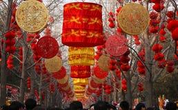 De de tempelmarkt van het de lentefestival Royalty-vrije Stock Foto