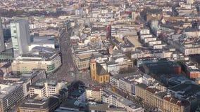 De de Tijdtijdspanne van Stadsfrankfurt stock videobeelden