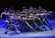 De 4de universitaire kunsttentoonstelling van China stock fotografie