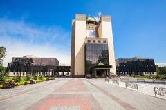 De de Universiteitsbouw van de Staat van Novosibirsk royalty-vrije stock foto
