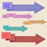 De de vector Banner & Kaart Opties van de Achtergrond van het Aantal Vector Illustratie