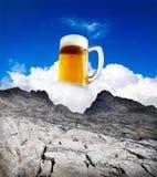 De de verfrissingzomer van het bier royalty-vrije stock afbeeldingen