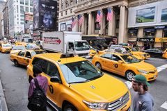 De 7de Weg van New York Royalty-vrije Stock Foto's