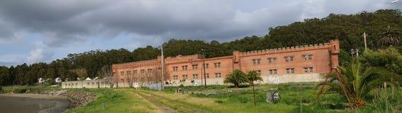 De de wijnmakerijbouw van Winehaven Stock Afbeeldingen
