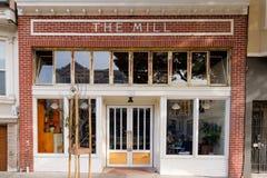 De de Winkel en Bakkerij van de Molenkoffie Stock Fotografie