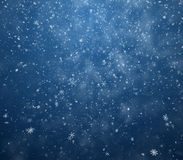 De de winterachtergrond Stock Foto