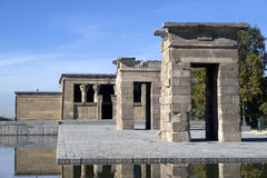 de debod templo Royaltyfria Bilder