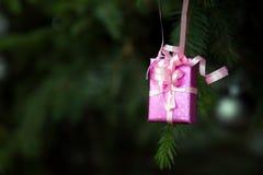 De Decoratie en de Boom van de Kerstmisviering Royalty-vrije Stock Foto