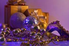 De Decoratie en de Giften van Kerstmis Stock Foto