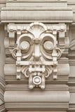 De decoratie van de art decostijl met masker Royalty-vrije Stock Afbeelding