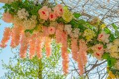 De decoratie van bloemen Stock Afbeelding