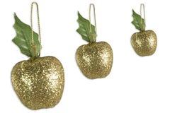 De Decoratie van de appel Stock Foto