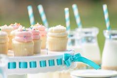 De decoratie van de babyverjaardag Stock Fotografie