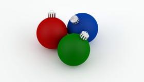 De decoratie van de Bal van Kerstmis Royalty-vrije Stock Afbeeldingen