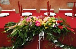 De decoratie van de bloem Stock Afbeeldingen