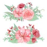 De decoratie van de bloem Stock Foto's