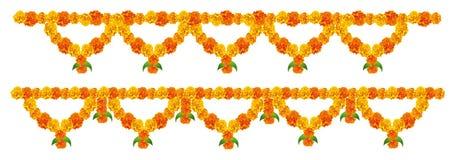 De decoratie van de bloem vector illustratie