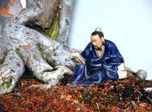 De decoratie van de bonsai stock foto