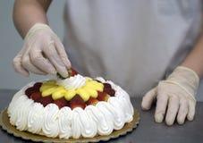 De decoratie van de cake Royalty-vrije Stock Foto