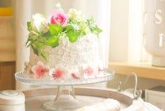 De decoratie van de cake Royalty-vrije Stock Foto's