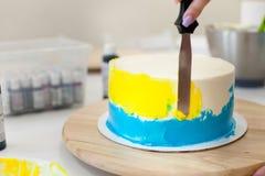 De decoratie van de cake Royalty-vrije Stock Afbeelding
