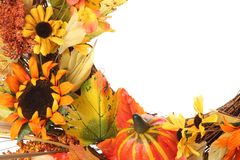 De decoratie van de dankzegging Royalty-vrije Stock Foto's