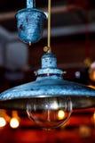 De decoratie van de Grunge binnenlandse verlichting Stock Foto