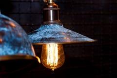 De decoratie van de Grunge binnenlandse verlichting Royalty-vrije Stock Afbeelding