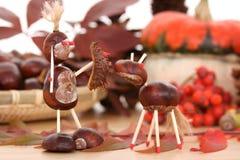 De decoratie van de herfst stock afbeelding