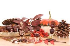 De decoratie van de herfst royalty-vrije stock afbeelding