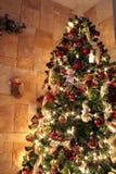 De Decoratie van de kerstboom stock fotografie