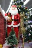 De decoratie van de Kerstman Stock Afbeelding