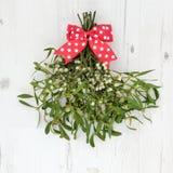 De Decoratie van de Kerstmismaretak Royalty-vrije Stock Foto's