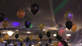 De decoratie van de Kerstmispartij stock video