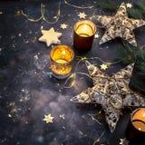 De Decoratie van de Kerstmisvakantie Royalty-vrije Stock Afbeelding