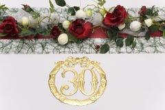 De decoratie van de lijst royalty-vrije stock foto's