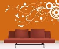 De decoratie van de muur Royalty-vrije Stock Foto
