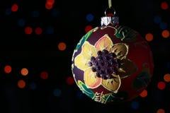 De Decoratie van de nieuwjaarboom Royalty-vrije Stock Afbeeldingen