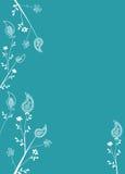 De Decoratie van de Pagina van Paisley vector illustratie