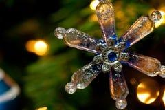 De Decoratie van de sneeuwvlok Royalty-vrije Stock Afbeeldingen