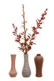 De decoratie van de vaas Stock Afbeelding