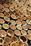 De Decoratie van het bamboe Royalty-vrije Stock Foto's
